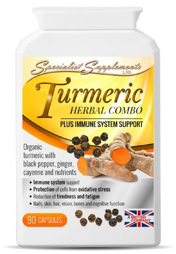 Specialist Supplements Turmeric Herbal Combo + Immune System Support
